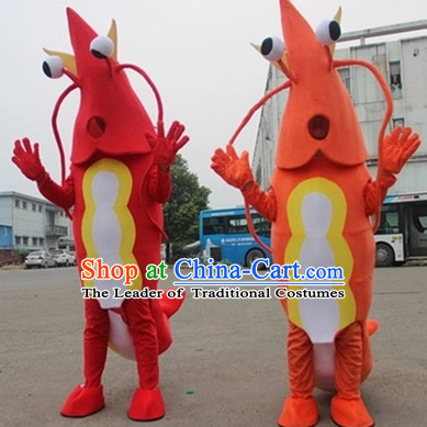 Mascot Uniforms Mascot Outfits Customized Walking Mascot Costumes Animal Cartoon Lobster Mascots Costume