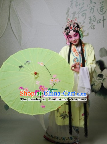 Chinese Opera Hua Dan Costumes and Headpieces Complete Set for Women