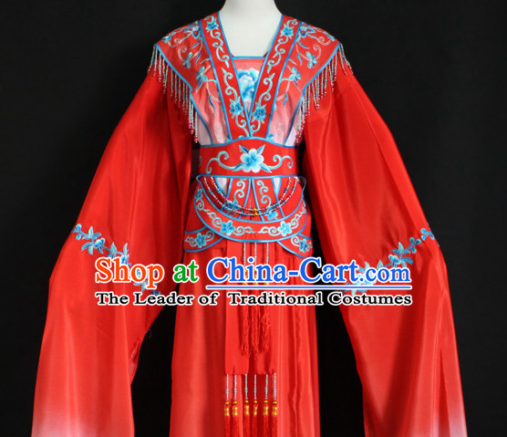 Color Changing Chinese Opera Hua Dan Costumes Complete Set for Women