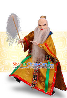 Traditional Chinese Handmade Wiser Hand Puppets Hand Marionette Puppet