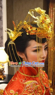 Top Chinese Classic Wedding Phoenix Accessories for Brides
