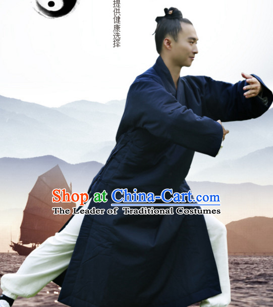 Top Wudang Winter Wear Tai Ji Master Uniform Taiji Tai Chi Uniforms for Adults Children Men Women Boys Girls