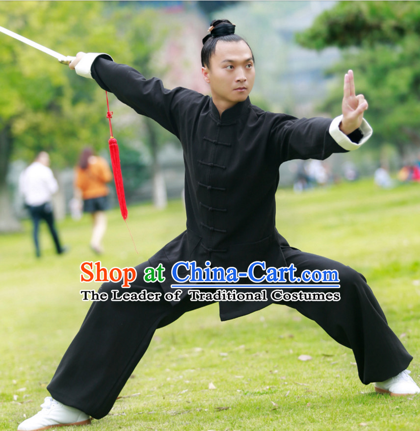 Top Wudang Winter Wear Tai Ji Master Taoist Uniform Taiji Tai Chi Uniforms for Adults Children Men Women Boys Girls