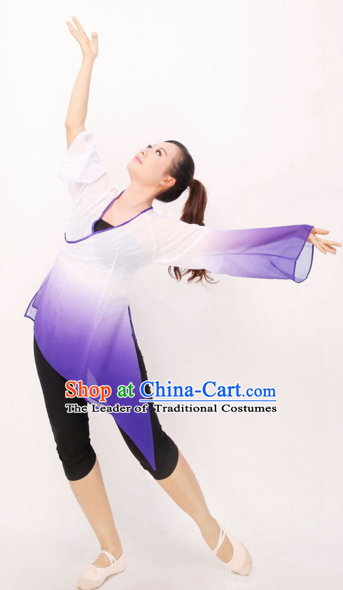 Color Changing Chinese Classical Dance Costumes for Women or Girls