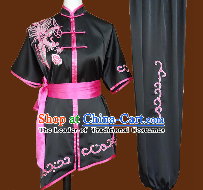 Top Tai Chi Taiji Kung Fu Gongfu Martial Arts Wushu Competition Uniforms Dresses Suits Outfits for Adults