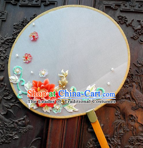 Handmade Ancient Chinese Empress Jade Fan