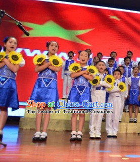 Chinese Sunflower Dance Props for Children