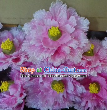 0.4 Meter Chinese Peony Flower Dance Props for Adults or Kids