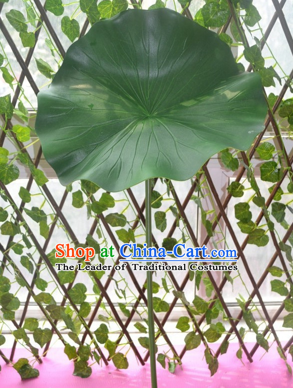 0.6 Meter Big Green Lotus Leaf Decoration Props Dance Prop
