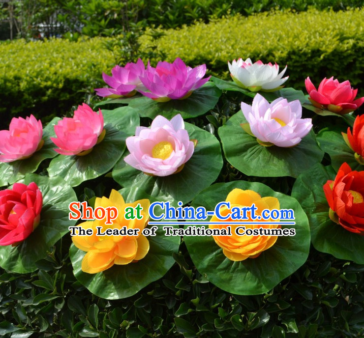 0.24 Meter Lotus Flower Decoration Props Dance Prop