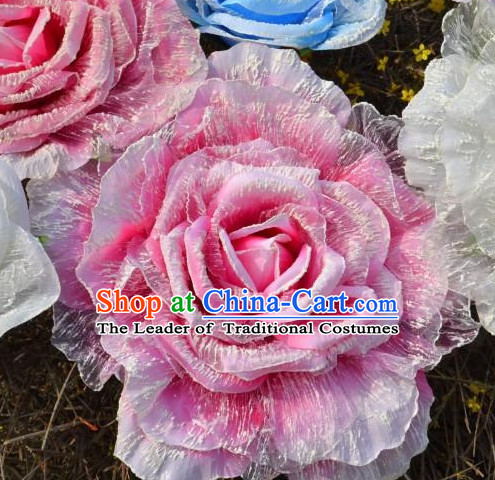 0.55 Meter Pink Peony Flower Decoration Props Dance Prop