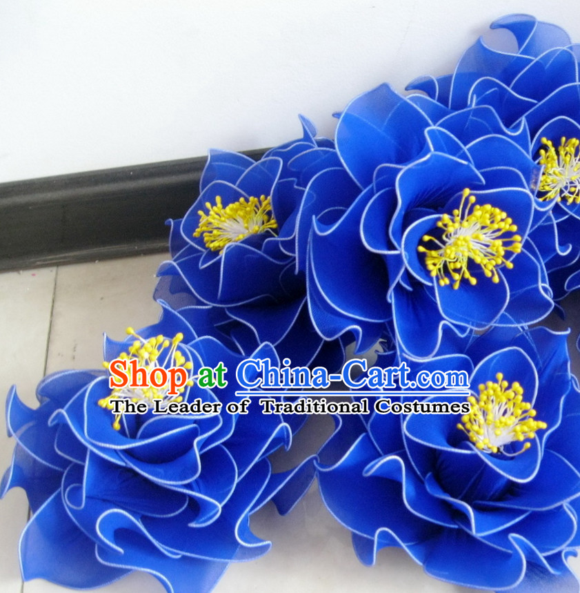 Blue Magnolia Dance Props Props for Dance Dancing Props for Sale for Kids Dance Stage Props Dance Cane Props Umbrella Children Adults