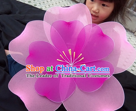 Big Peach Blossom Flower Dance Props Props for Dance Dancing Props for Sale for Kids Dance Stage Props Dance Cane Props Umbrella Children Adults