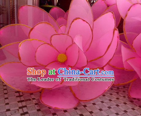 Big Lotus Dance Props Props for Dance Dancing Props for Sale for Kids Dance Stage Props Dance Cane Props Umbrella Children Adults