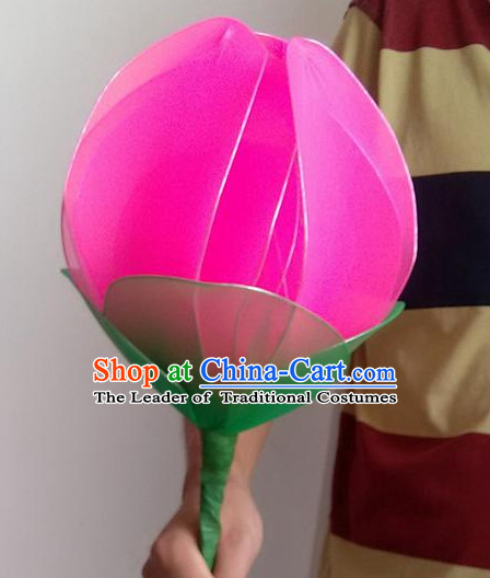 Handmade Lotus Dance Props Props for Dance Dancing Props for Sale for Kids Dance Stage Props Dance Cane Props Umbrella Children Adults