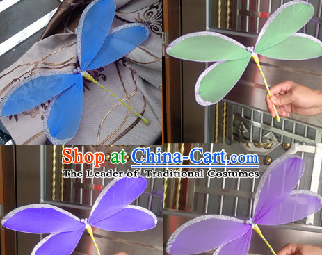 Handmade Dragonfly Dance Props Props for Dance Dancing Props for Sale for Kids Dance Stage Props Dance Cane Props Umbrella Children Adults