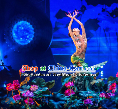 Handmade Big Lotus and Leaf Props for Dance Dancing Props for Sale for Kids Dance Stage Props Dance Cane Props Umbrella Children Adults