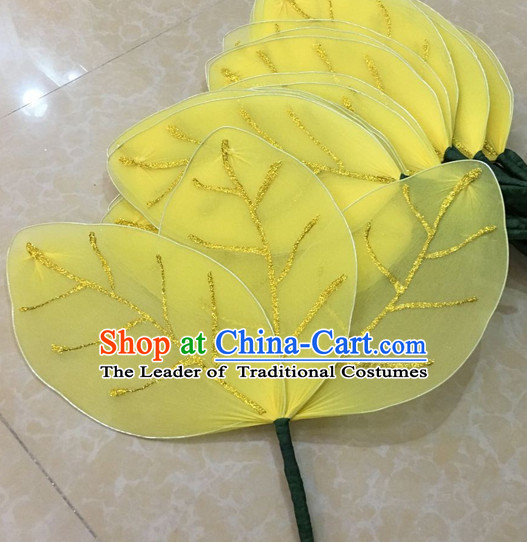Big Yellow Leaf Stage Performance Dance Props