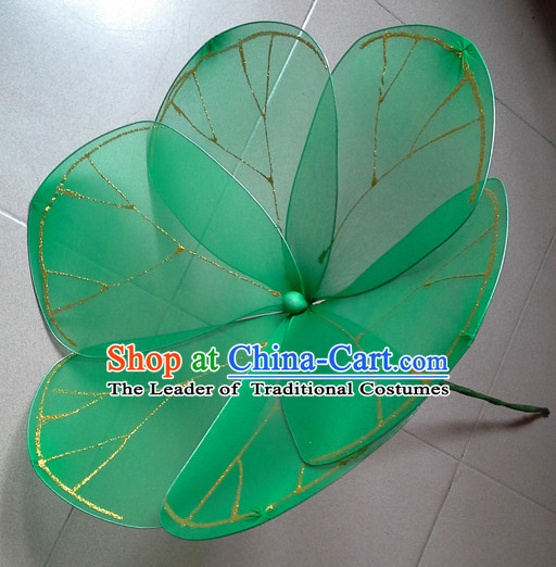 0.7 Meter Big Handmade Lotus Leaf Stage Performance Dance Props Dancing Prop Decorations
