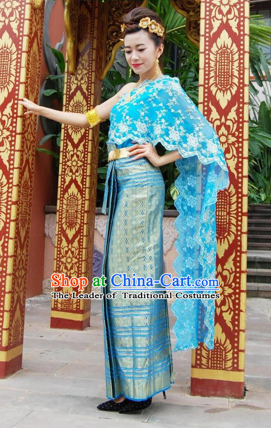 Thailand Clothing Traditional Thai-style Dresses Thailand National ...