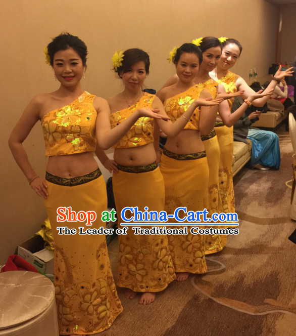 0aa65b5c1 Traditional National Thai Dance Costumes Dress Thai Traditional Dress  Dresses Wedding Dress online for Sale Thai