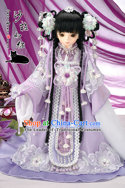 Chinese Princess Clothing and Hair Accessories Complete Set