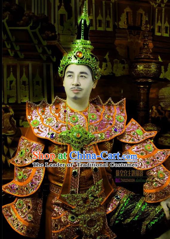 6cd9e6422 Top Traditional National Thai Empeoror Costumes Garment Dress Thai  Traditional Dress Dresses Wedding Dress Complete Set