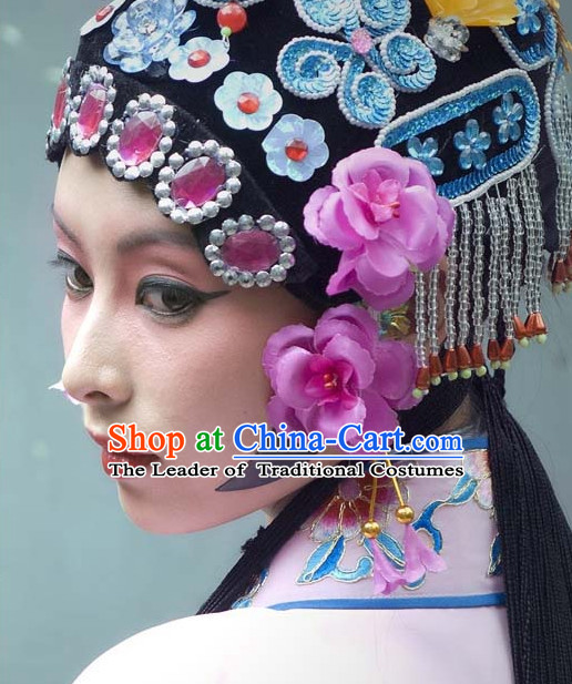 Traditional Chinese Opera Headdress for Women Girls