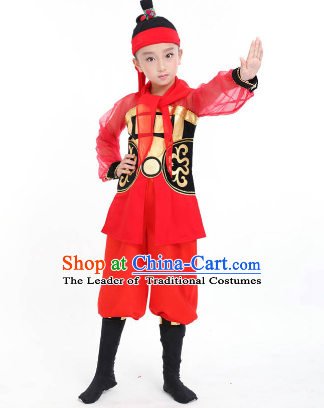 Chinese Competition dancing Costumes Kids dancing Costumes Folk dancings Ethnic dancing Fan dancing Dancing dancingwear