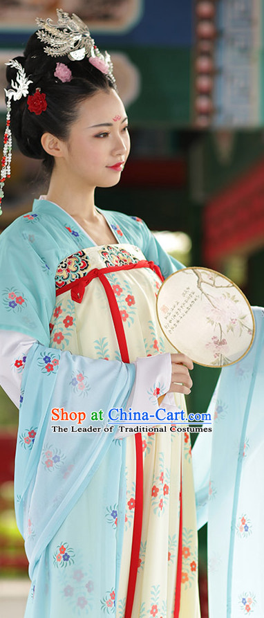 Ancient Chinese Tang Dynasty Hanfu Dress China Traditional Clothing Asian Long Dresses China Clothes Fashion Oriental Outfits for Women