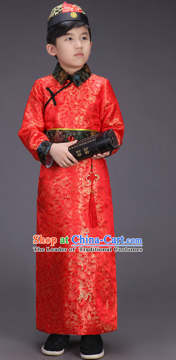 Ancient Chinese Prince Clothing for Boys