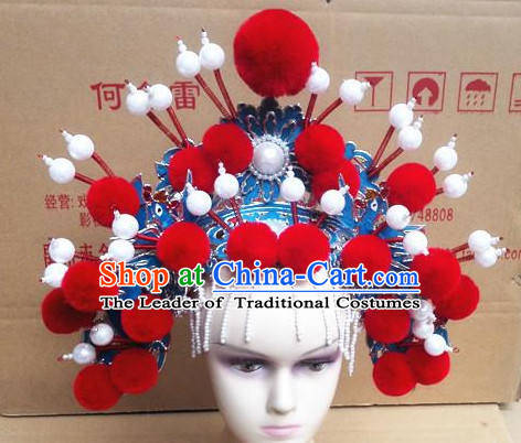 Beautiful Chinese Headdress Opera Hat for Women