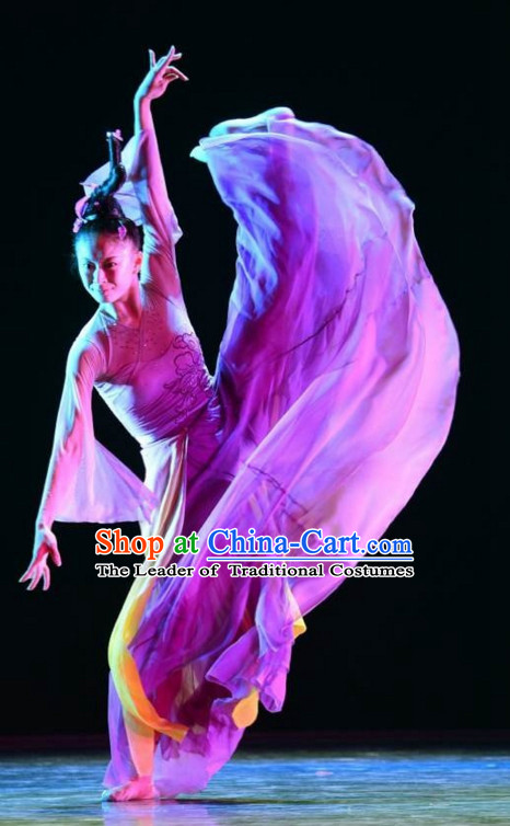 Traditional Chinese Classical Dancing Dancewear Dance Costumes for Women