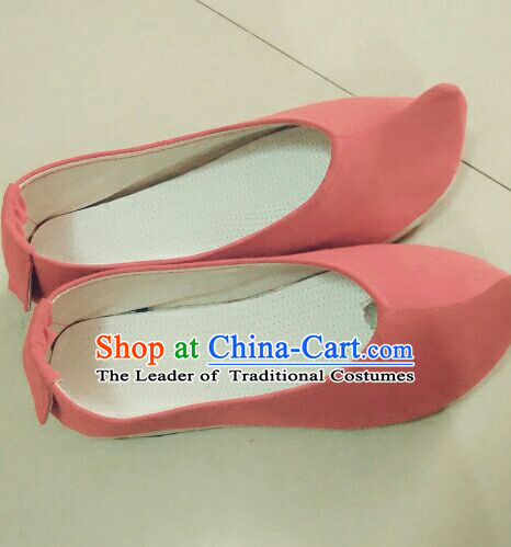 Chinese Ancient Handmade Traditional Bow Shoes for Women and Girls