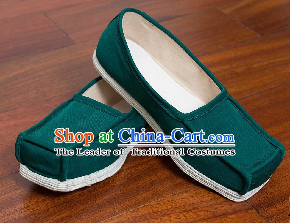 Ancient Chinese Handmade Fabric Shoes
