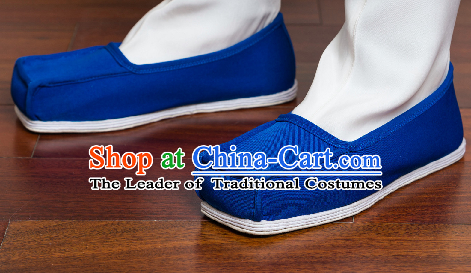 Ancient Chinese Handmade Fabric Shoes for Men or Boys
