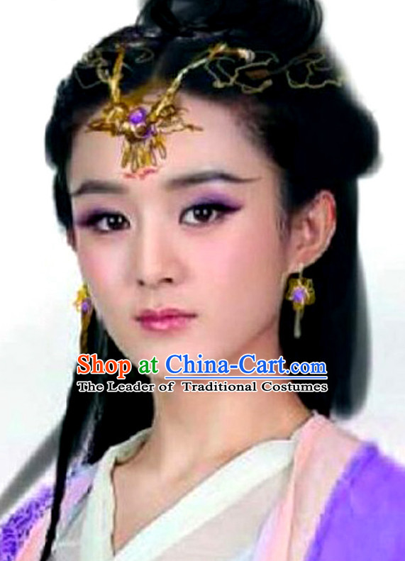 Ancient Chinese Handmade Fairy Headdress Hair Jewelry for Women