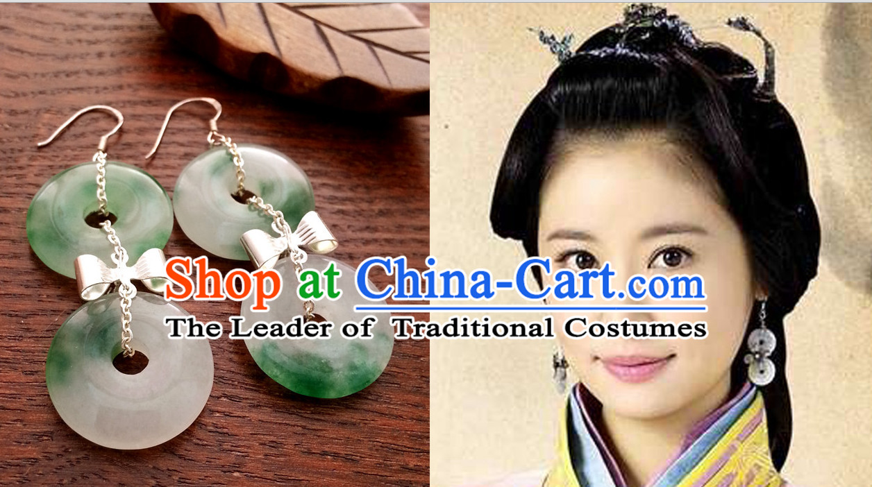 Ancient Chinese Handmade Empress Earrings