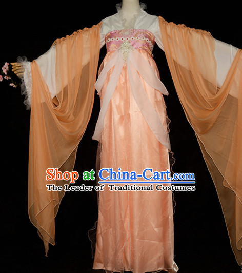 Chinese Traditional Fairy Hanfu Costumes Complete Set for Girls Women