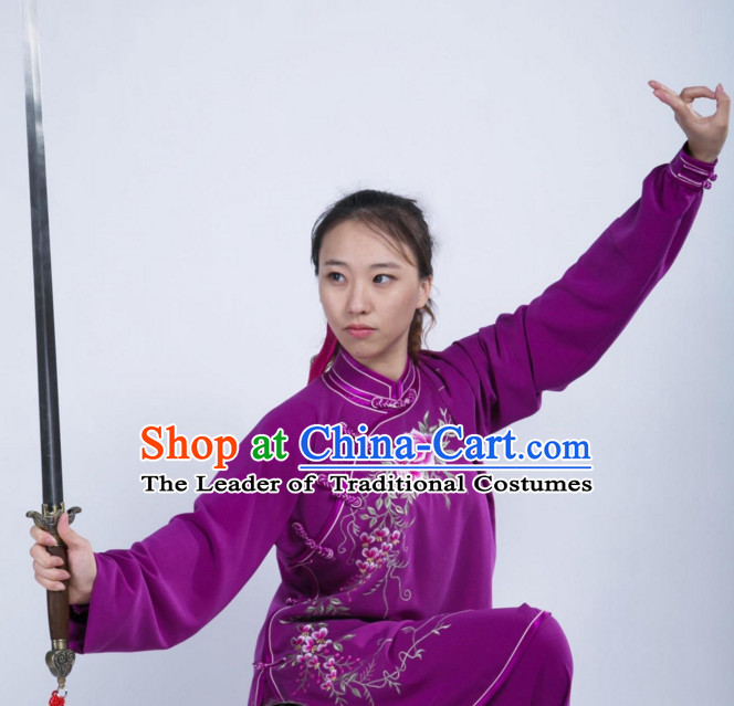 Top Chinese Traditional Martial Arts Uniforms for Women
