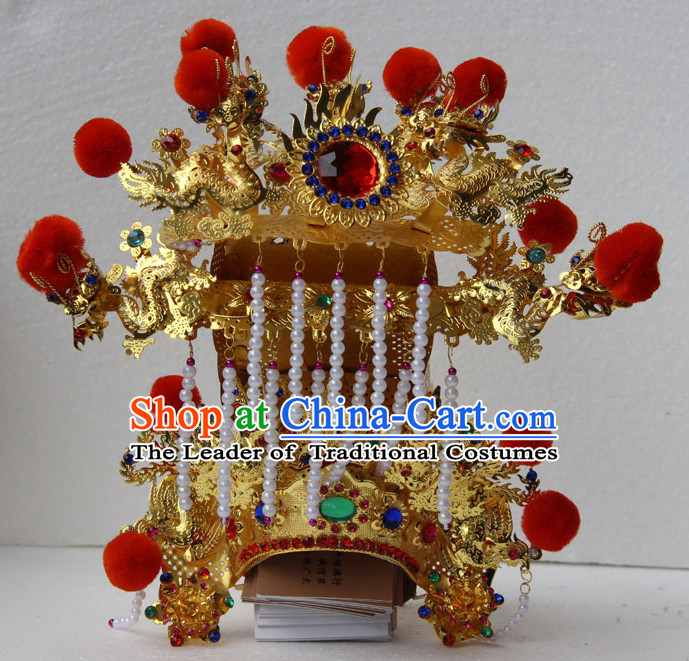 Chinese Traditional Opera Helmet Hat