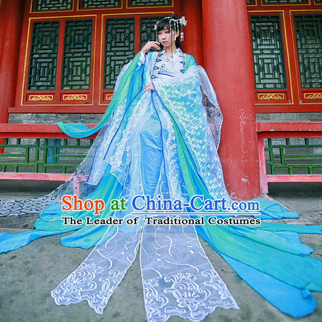 Gorgeous Chinese Princess Empress Costumes Ancient Chinese Clothing Complete Set for Men