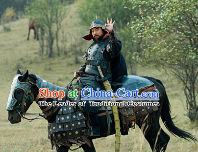 Asian Ancient Chinese Samurai Authentic Fantasy Suit of Body Armor for Sale Complete Set for Men