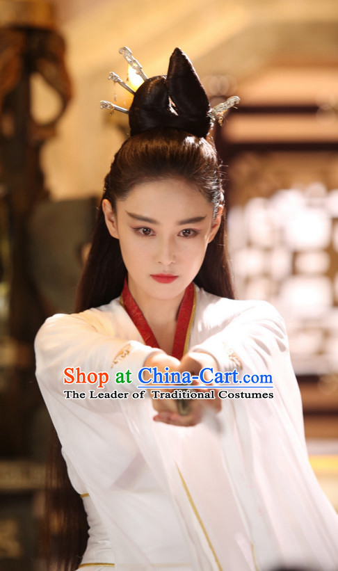 Ancient Chinese Traditional National Hanfu Dress Costume Clothes Ancient China Clothing for Men Women Girls Boys