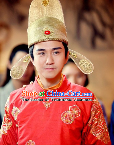 Ancient Chinese Traditional Style Bridegroom Hat
