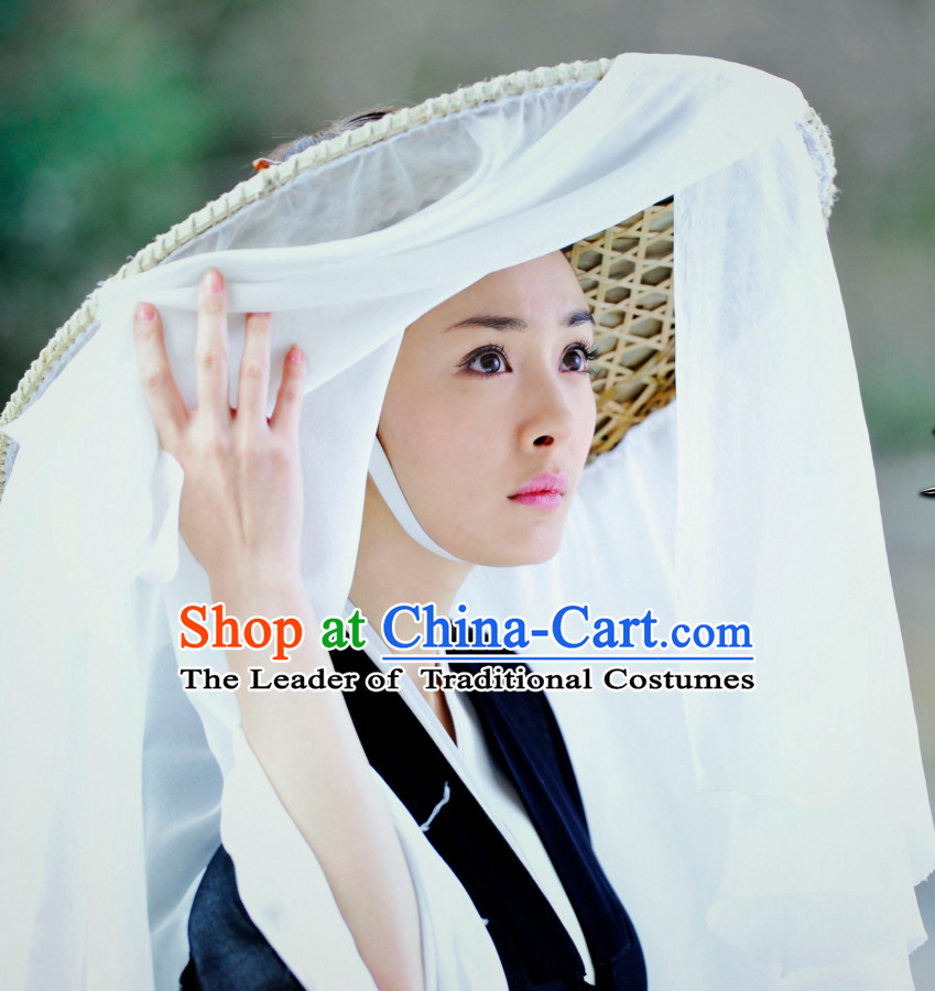 Chinese Traditional Bamboo Hat for Men or Women