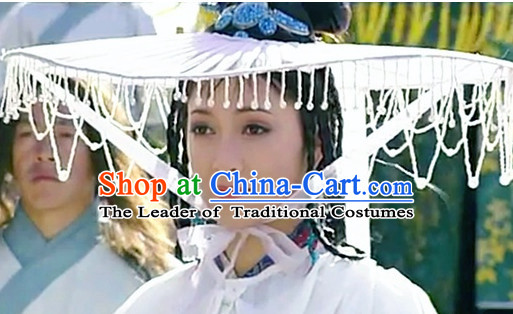 Ancient Chinese Style Beaded Hat for Women