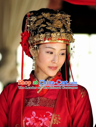 Ancient Chinese Style Princess Wedding Hair Jewelry Set