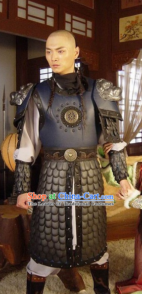 Ancient Chinese Style Male General Warrior Body Armor