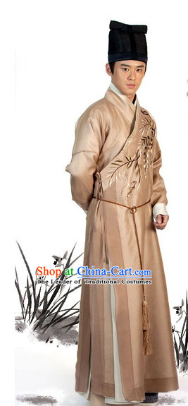 Traditional Chinese Ancient Nobleman Costume Complete Set for Men